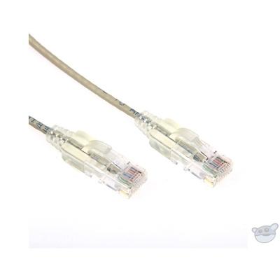 DYNAMIX 1M Cat6 Slimline Component Level UTP Patch Lead (Beige)