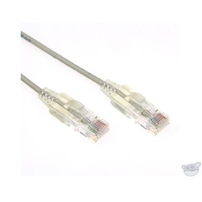 Dynamix 1.25M Cat6 Slimline Component Level UTP Patch Lead (Grey)