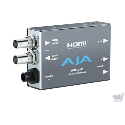 AJA HI5 SDI to HDMI Video and Audio Converter