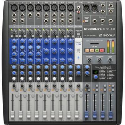 PreSonus AR12 StudioLive USB 14-Channel Mixer