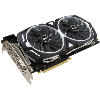 MSI GeForce GTX 1080 ARMOR 8G OC Graphics Card