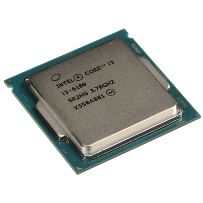 Intel Core i3-6100 3.7 GHz Dual-Core LGA 1151 Processor (Retail)