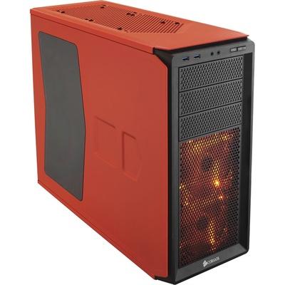 Corsair Graphite Series 230T Windowed Compact Mid-Tower Case (Rebel Orange)