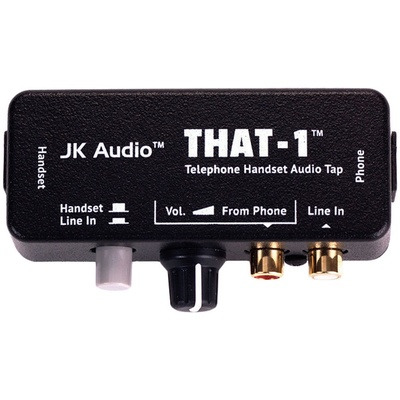 JK Audio THAT-1 Telephone Interface with RCA I/O