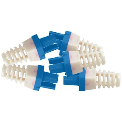 Platinum Tools Strain Reliefs for EZ-RJ45 CAT6 Connectors (50-Pack, Blue)