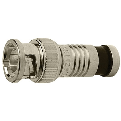 Platinum Tools SealSmart Coax Compression BNC Connector for RG-6 Cable (Jar of 40)
