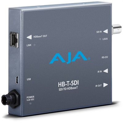 AJA HB-T-SDI SDI to HDBaseT Transmitter