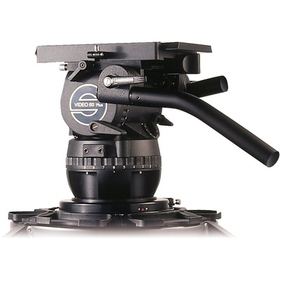 Sachtler Video 60 Plus Studio Fluid Head (Flat Base) - Supports 16-65 kg