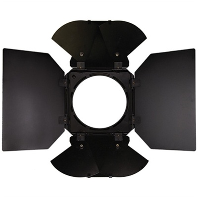 Litepanels 4-Way, 8-Leaf Barndoor Set for Sola 12 and Inca 12 LED Fresnels