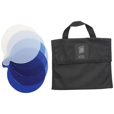 Litepanels CTB 5-Piece Gel Set with Bag for Inca 12 Fresnel