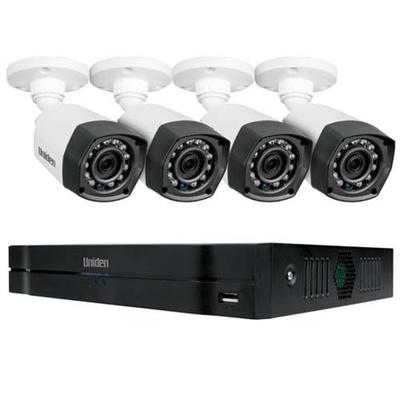 Uniden GCVR8H40 Guardian Hybrid Full HD DVR Security System