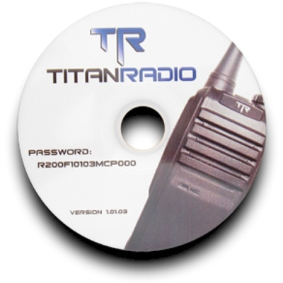 Titan Radio TRSW Programming Software for TR200 and TR400