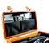 Pelican 1447 Top Loader Case with Office Dividers (Orange)