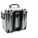 Pelican 1447 Top Loader Case with Office Dividers (Silver)
