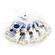Bluestar Large Round Eyecushion - Chamois (5 Pack)