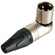 Neutrik NC3MRX 3 Pole Right Angle XLR Male Cable Connector