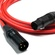 Canare L-4E6S Star Quad XLRM to XLRF Microphone Cable - 25' (Red)