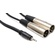 Hosa CYX-403M 3.5mm to XLR Y-Cable 3m