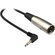 Hosa XVM-110M Stereo 3.5mm Mini Angled Male to XLR Male Cable - 10'