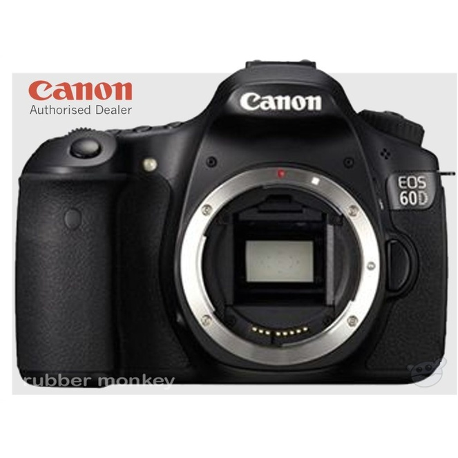 canon eos 60d digital slr camera body only au
