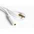 Iphone microphone input adapter cable