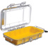 Pelican 1015 Micro Case (Yellow/Clear)