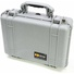 Pelican 1504 Case with Dividers (Silver)