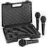 Behringer XM-1800S Dynamic Handheld Microphone (3-Pack)