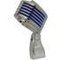 Heil Sound The Fin Dynamic Cardioid Microphone (Chrome, Blue LED)