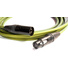 Canare L-4E6S Star Quad XLRM to XLRF Microphone Cable - 25' (Yellow)