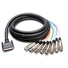 Hosa DTF-805 DB25 to XLR Snake Cable 5m
