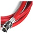 Canare 1' HD-SDI Video Coaxial Cable - BNC to BNC Connectors (Red)