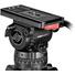 Sachtler Video 15 SB Fluid Head (100mm) - Supports 16 kg