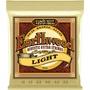 Ernie Ball Earthwood Light Acoustic Guitar Strings 80/20 Bronze (11 - 52)