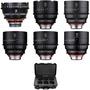 Rokinon Xeen 14, 24, 35, 50, 85, 135mm Cine 6 Lens Bundle with Case (Canon EF)
