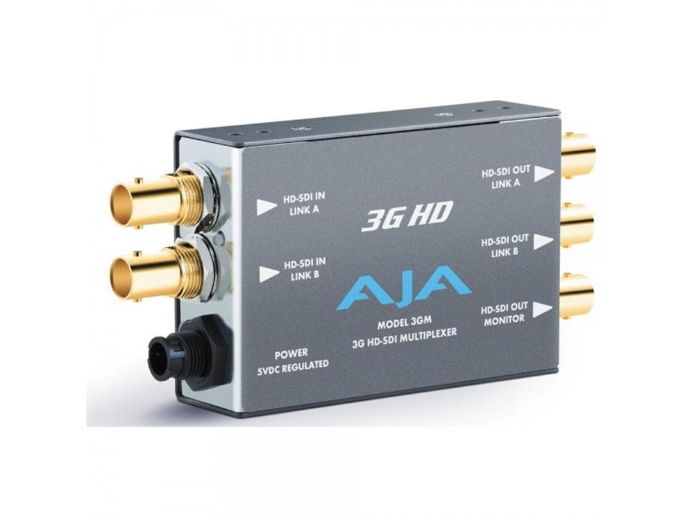 AJA 3GM HD-SDI Multiplexer