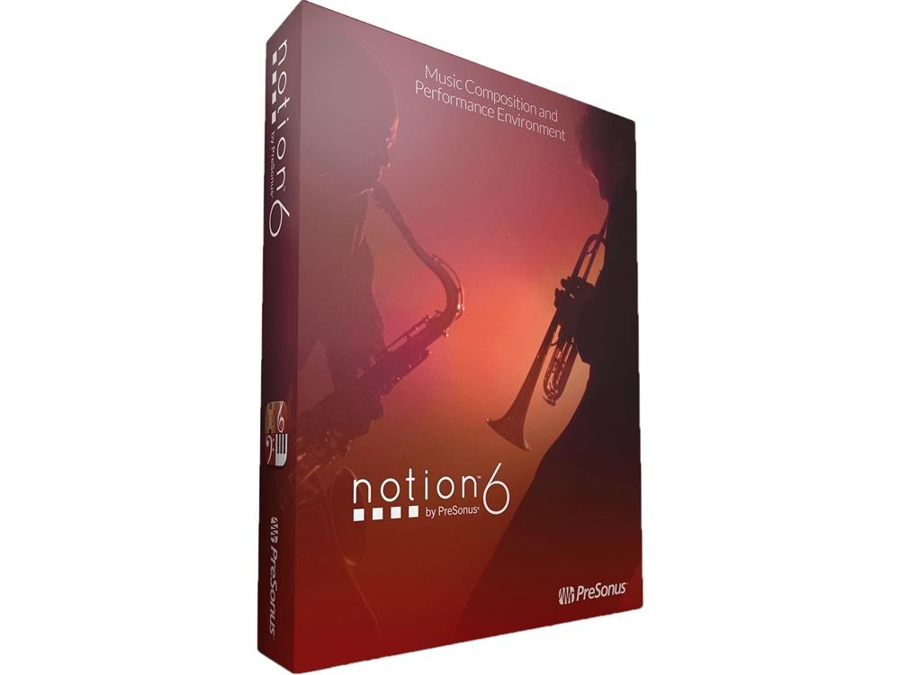 PreSonus Notion 6 - Notation Software (Boxed)