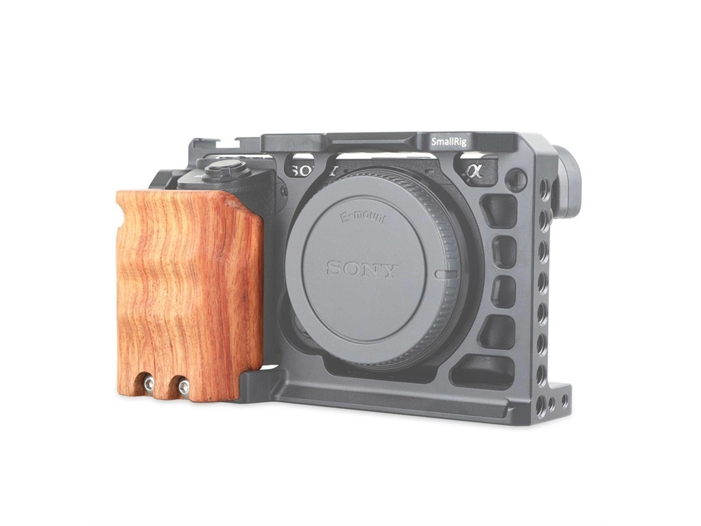 SmallRig 1970 Wooden Handgrip for Sony A6500 ILCE-6500