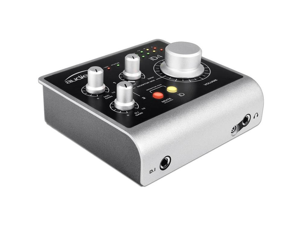 Audient iD4 High-Performance USB Audio Interface