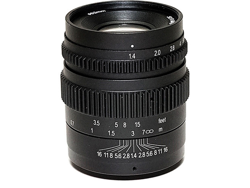 SLR Magic Cine 35mm T1.4 Mark II Lens with Fuji X Mount