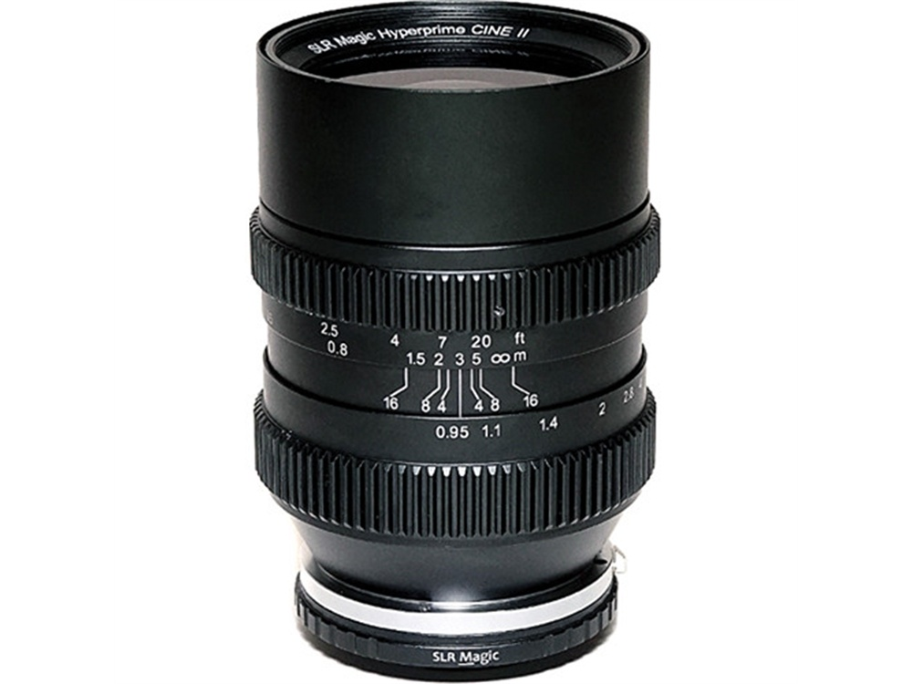 SLR Magic Cine 35mm T0.95 Mark II Lens with Fuji X Mount