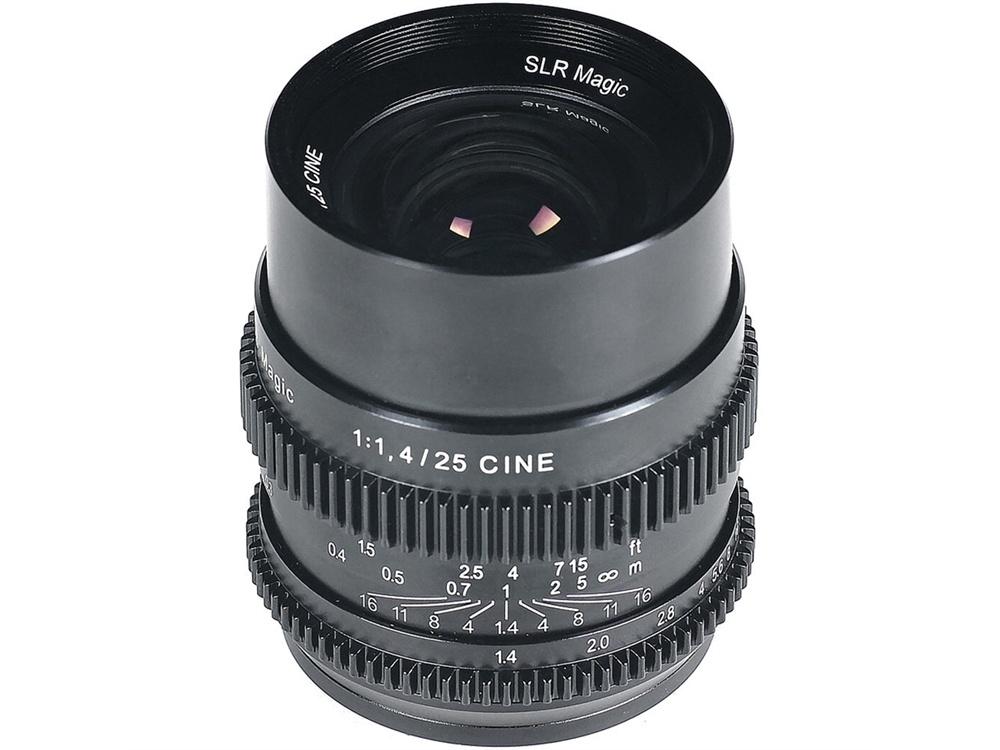 SLR Magic Cine 25mm f1.4 Lens (Sony E-Mount)
