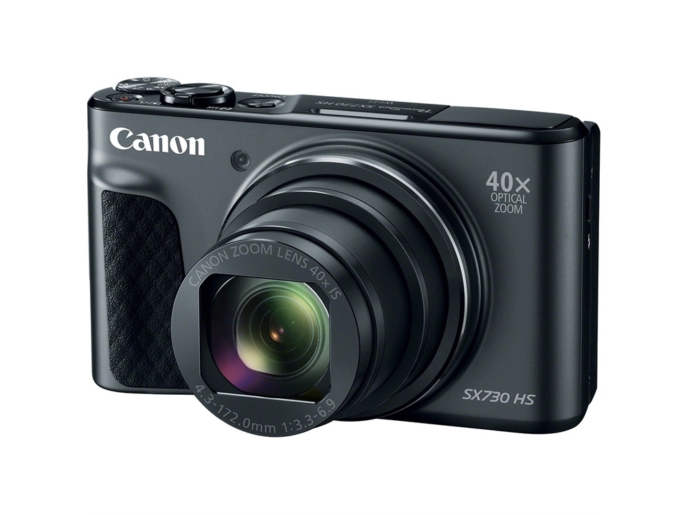 Canon PowerShot SX730 HS Compact Superzoom (Black)