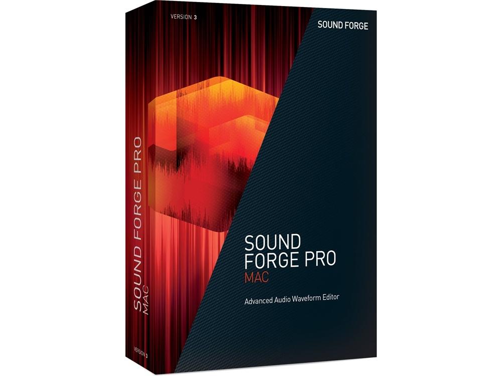 MAGIX Entertainment Sound Forge Pro Mac 3, Audio Waveform Editor (Download)