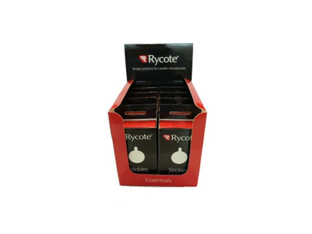 Rycote Stickies 23mm Round Advanced, Adhesive Pads (Master Carton of 10 x Packs)