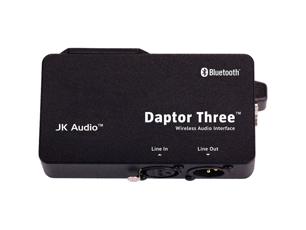 JK Audio Daptor Three Bluetooth Wireless Audio Interface for Cell Phones