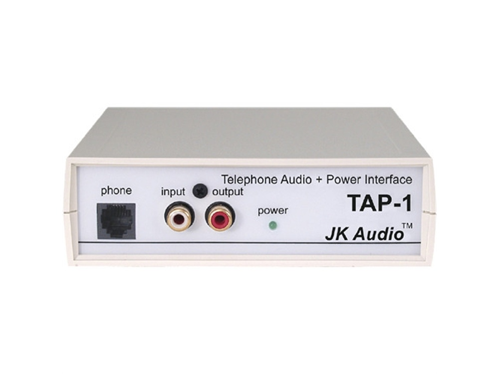 JK Audio TAP-1 - Telephone Audio and Power Interface