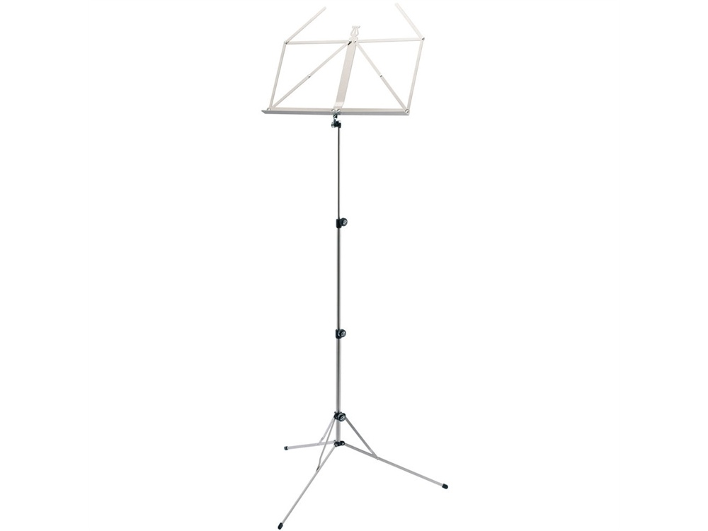 K&M 101 Music Stand (Nickel-Coloured)