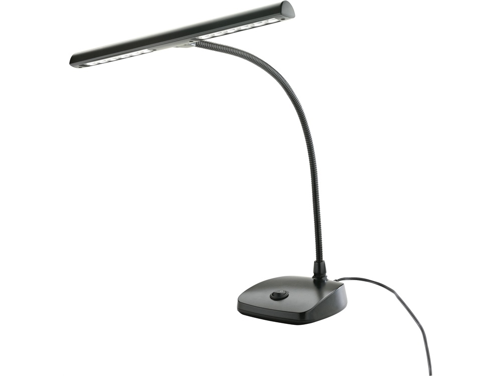 K&M 12297 LED Piano Lamp (Black)