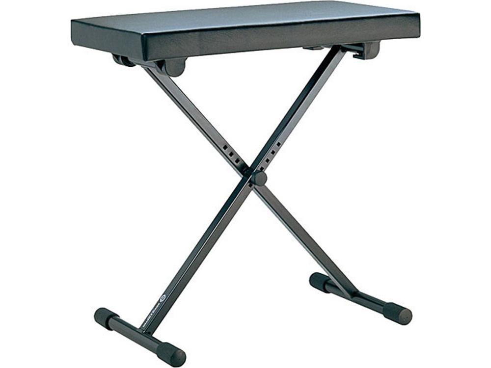 K&M 14065 X-Style Keyboard Bench (Black)